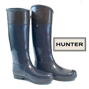 Hunter Regent Carlyle Tall Rain Boots (US 7M)